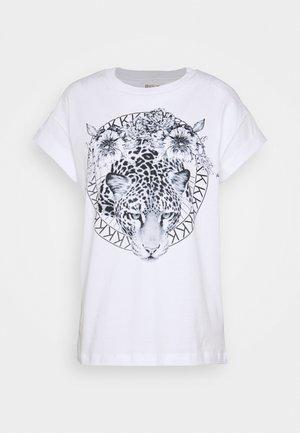 LEO - T-shirts med print - white