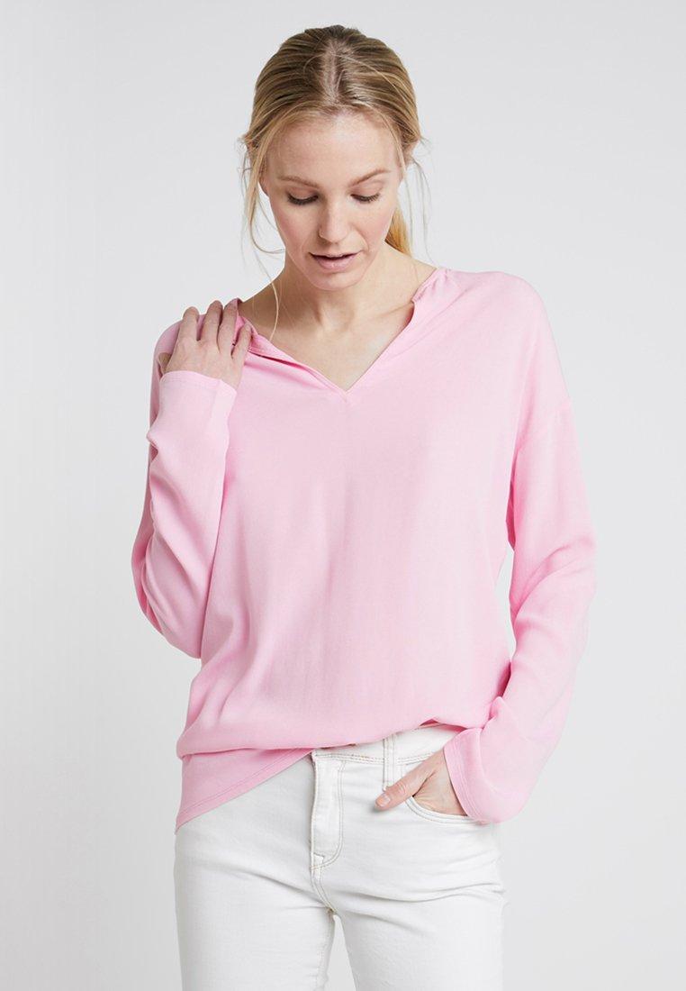 Rich & Royal - LONGSLEEVE - Bluse - spring pink