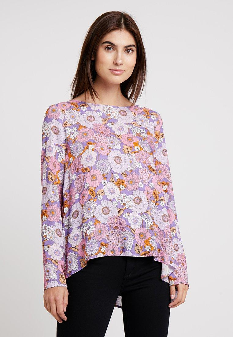 Rich & Royal - PRINTED A SHAPE BLOUSE - Bluse - purple