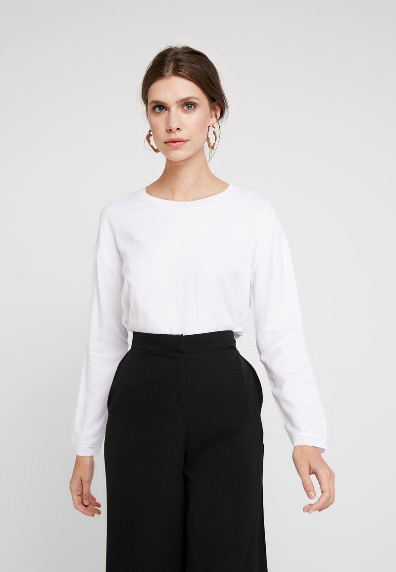 Rich & Royal - LONGSLEEVE - Bluse - white