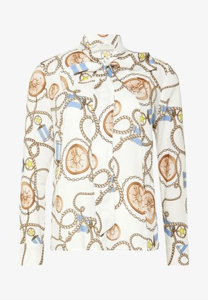 BLOUSE WITH COLLAR - Skjorte - white