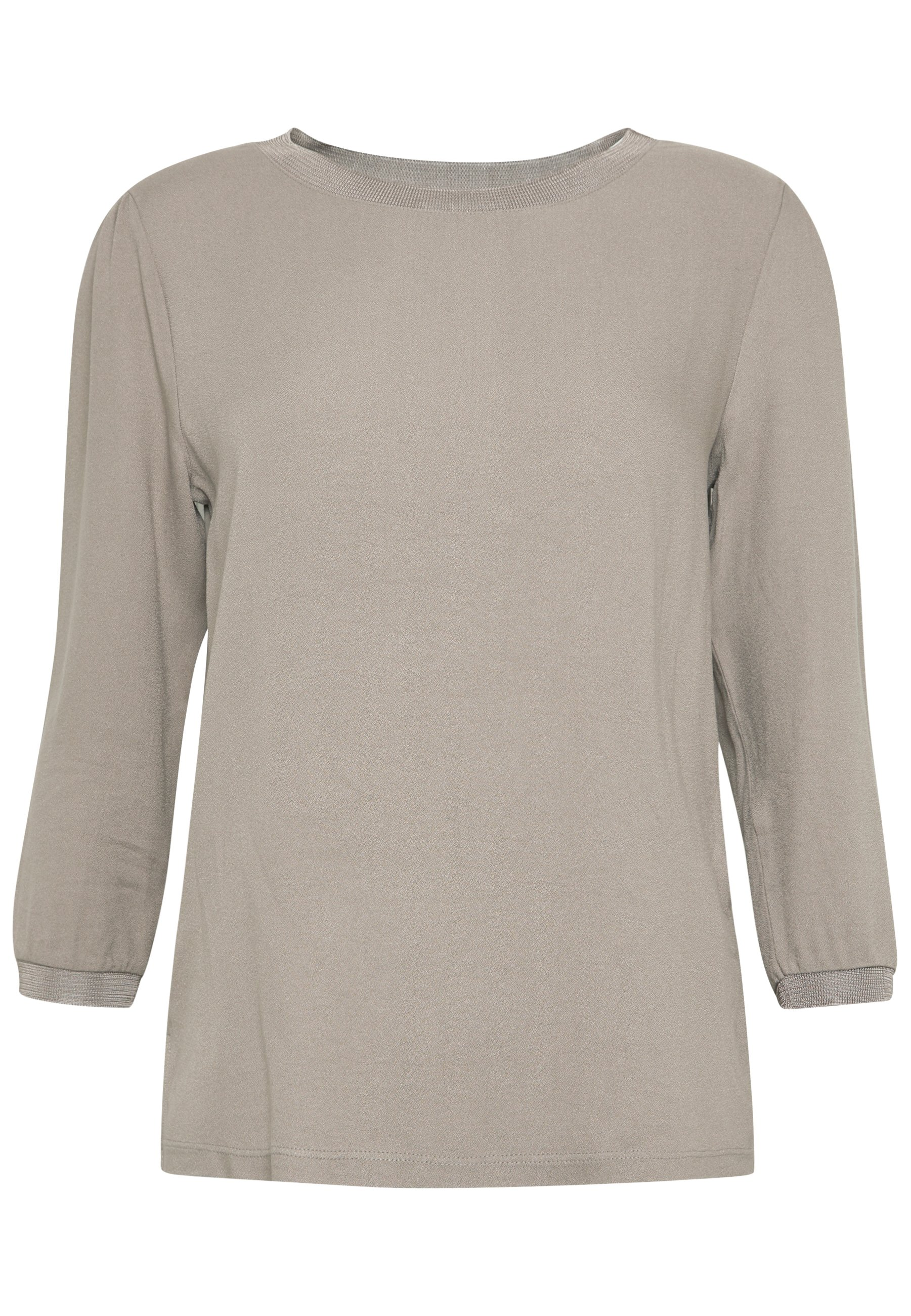 Rich & Royal Longsleeve Woven Mix - Blus Taupe