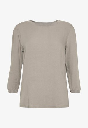 LONGSLEEVE WOVEN MIX - Bluser - taupe