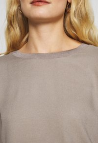 Rich & Royal - LONGSLEEVE WOVEN MIX - Bluser - taupe - 4