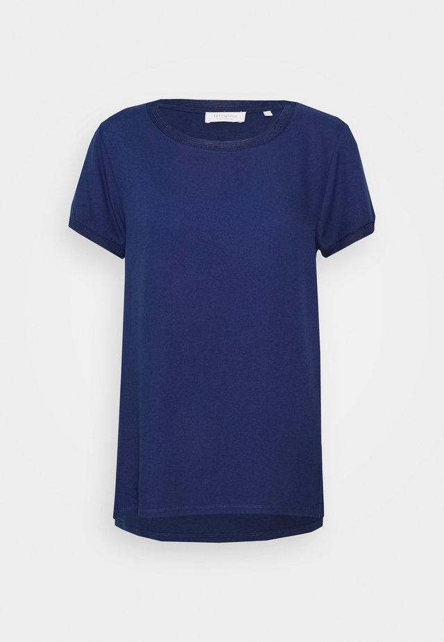 Blouse - deep blue