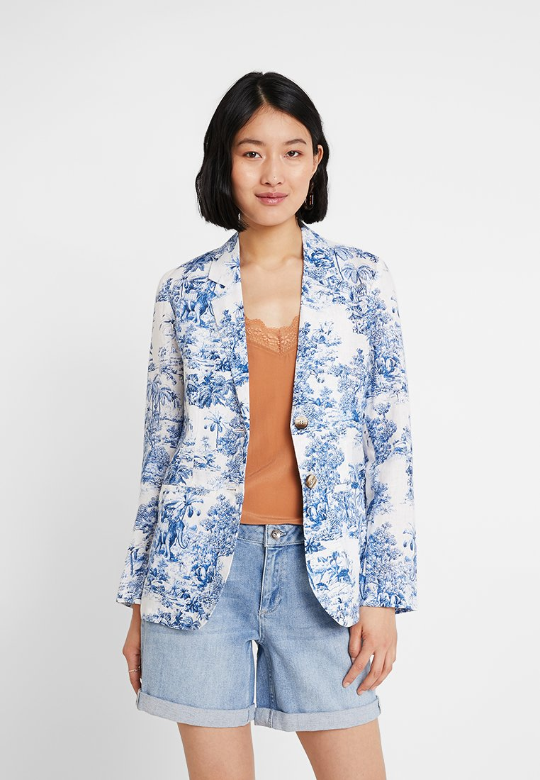 Rich & Royal - PRINTED - Blazer - deep blue