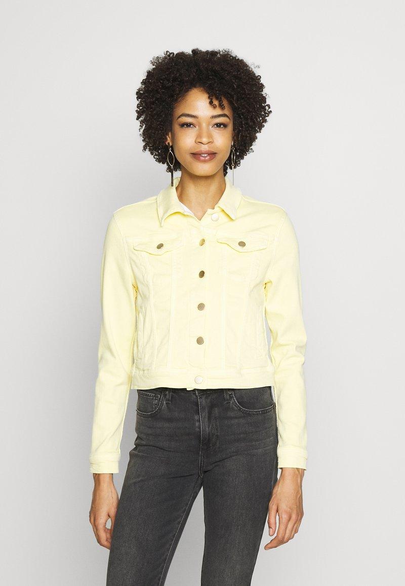 Rich & Royal - JACKET - Jeansjakke - light lemon