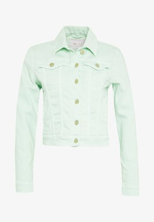 JACKET - Denim jacket - jade mint