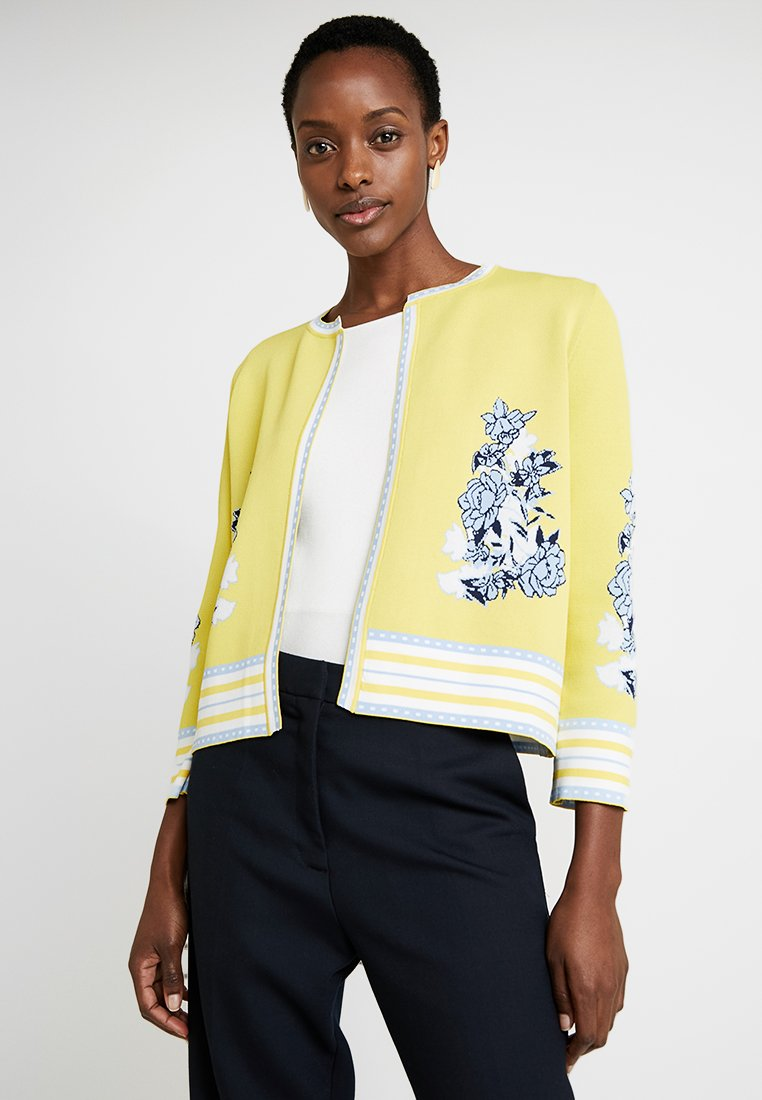 Rich & Royal - Cardigan - lemon