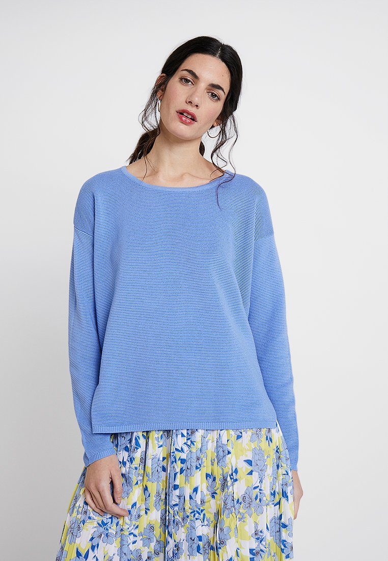 Rich & Royal - CASUAL CREW - Strickpullover - powder blue