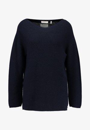 MOCK NECK - Pullover - deep blue