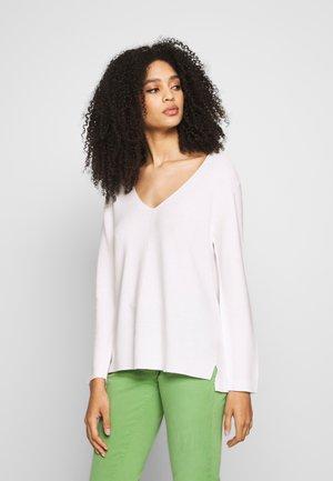 Jersey de punto - pearl white