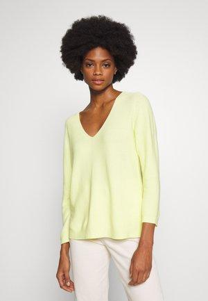 Sweter - light lemon