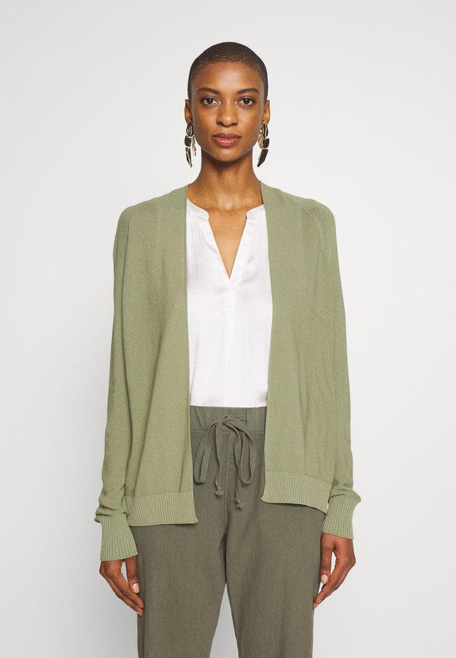 Cardigan - safari green
