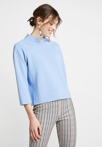 Rich & Royal - COMFY TURTLE - Long sleeved top - powder blue - 0
