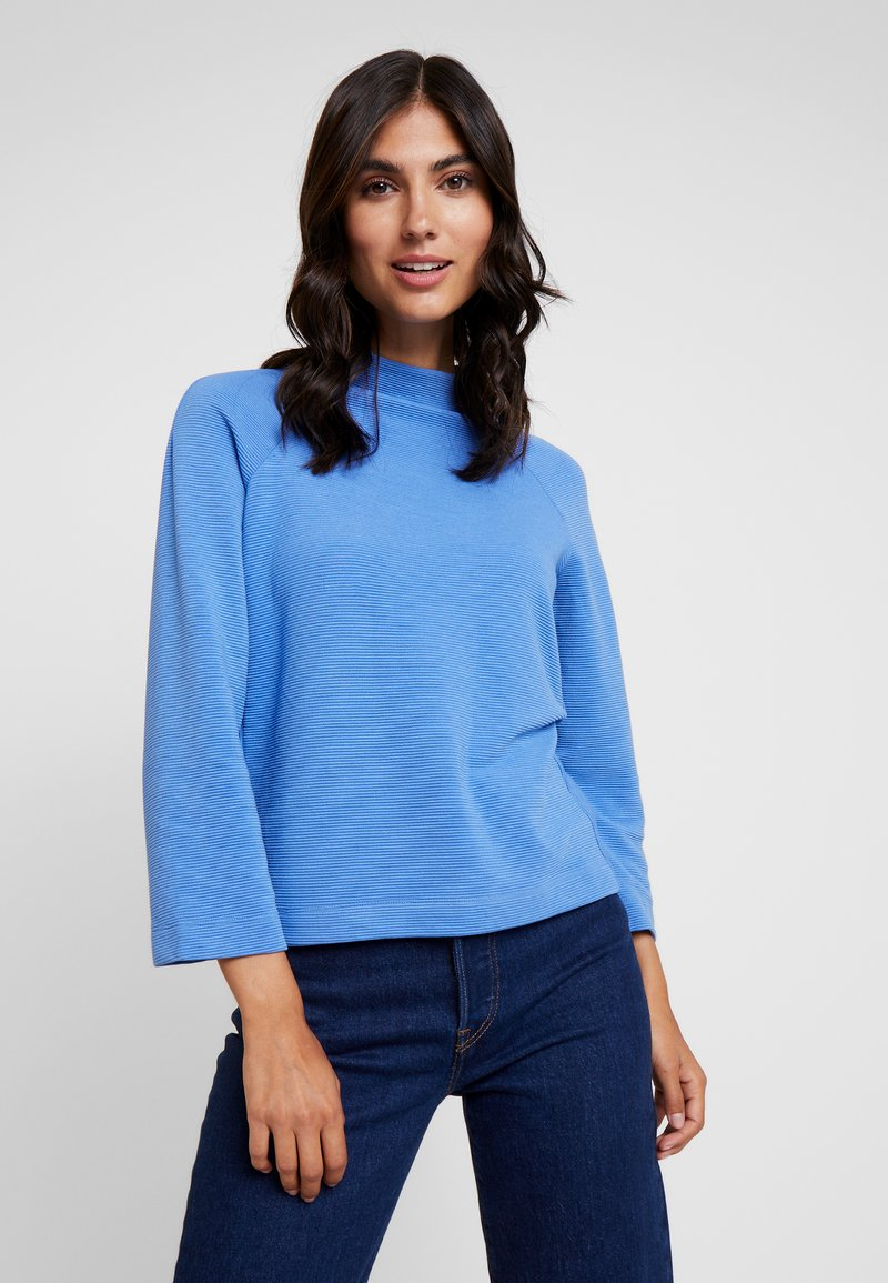 Rich & Royal - COMFY TURTLE - T-shirt à manches longues - cornflower blue