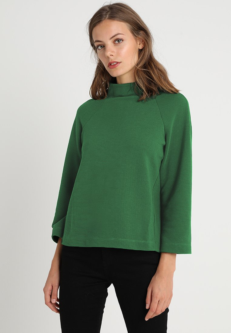 Rich & Royal - COMFY TURTLE - T-shirt à manches longues - forest green