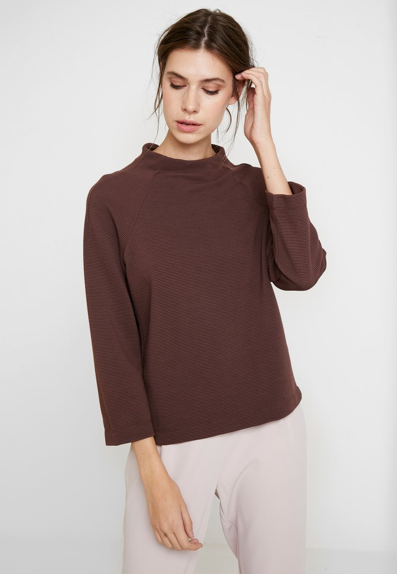 Rich & Royal - COMFY TURTLE - Langarmshirt - dark mahogany