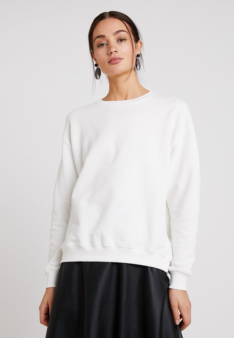 Rich & Royal - FELPA CREW - Sweatshirt - white