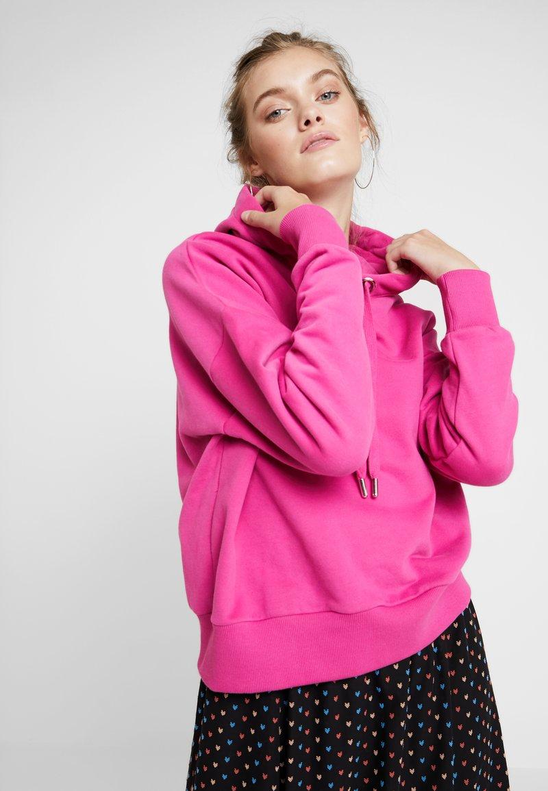 Rich & Royal - FELPA HOODIE - Hoodie - raspberry pink