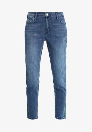 MIDI GALON STRIPE - Slim fit jeans - denim blue