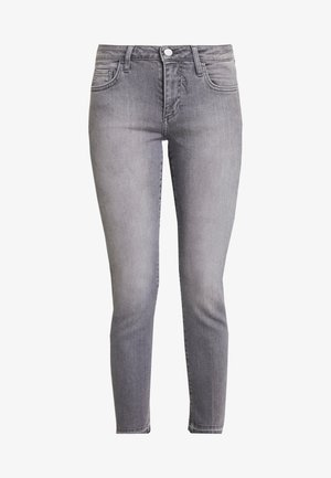 MIDI - Jeans slim fit - denim grey