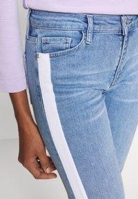 Rich & Royal - MIDI STRIPE - Jeans Slim Fit - denim blue - 4