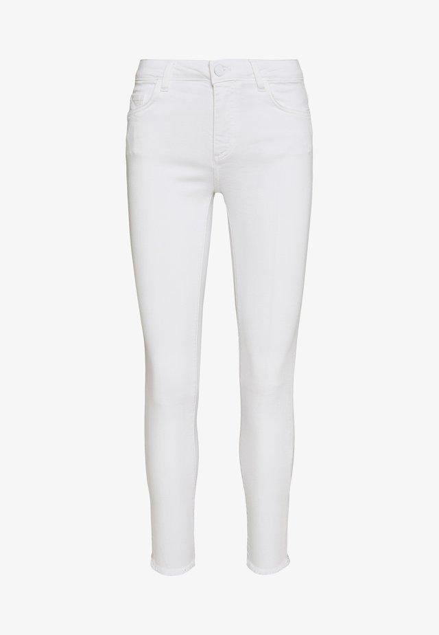MIDI COLOR - Slim fit jeans - denim white