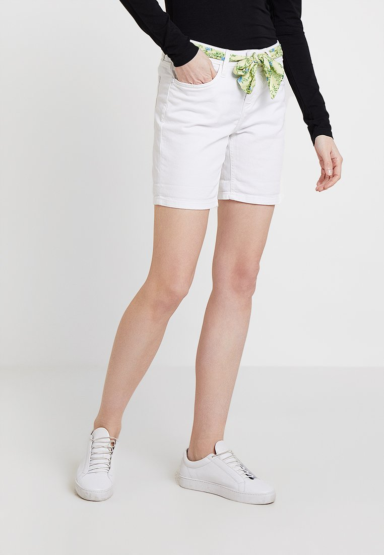 Rich & Royal - Jeans Shorts - denim white