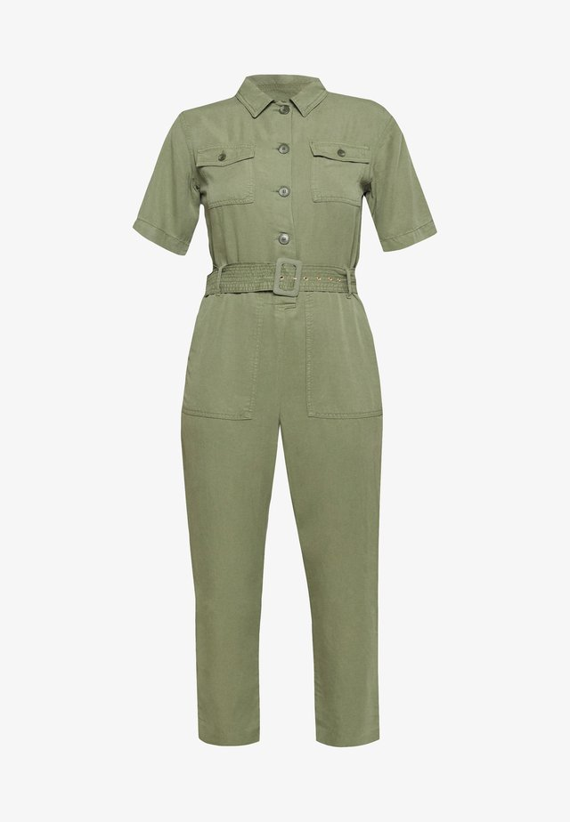 Jumpsuit - safari green