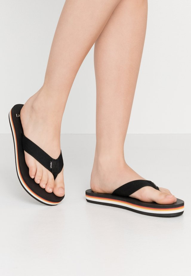 SKYE - T-bar sandals - black