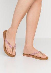 Rip Curl - FREEDOM - T-bar sandals - pink - 0