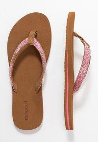 Rip Curl - FREEDOM - T-bar sandals - pink - 3