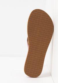 Rip Curl - FREEDOM - T-bar sandals - pink - 6