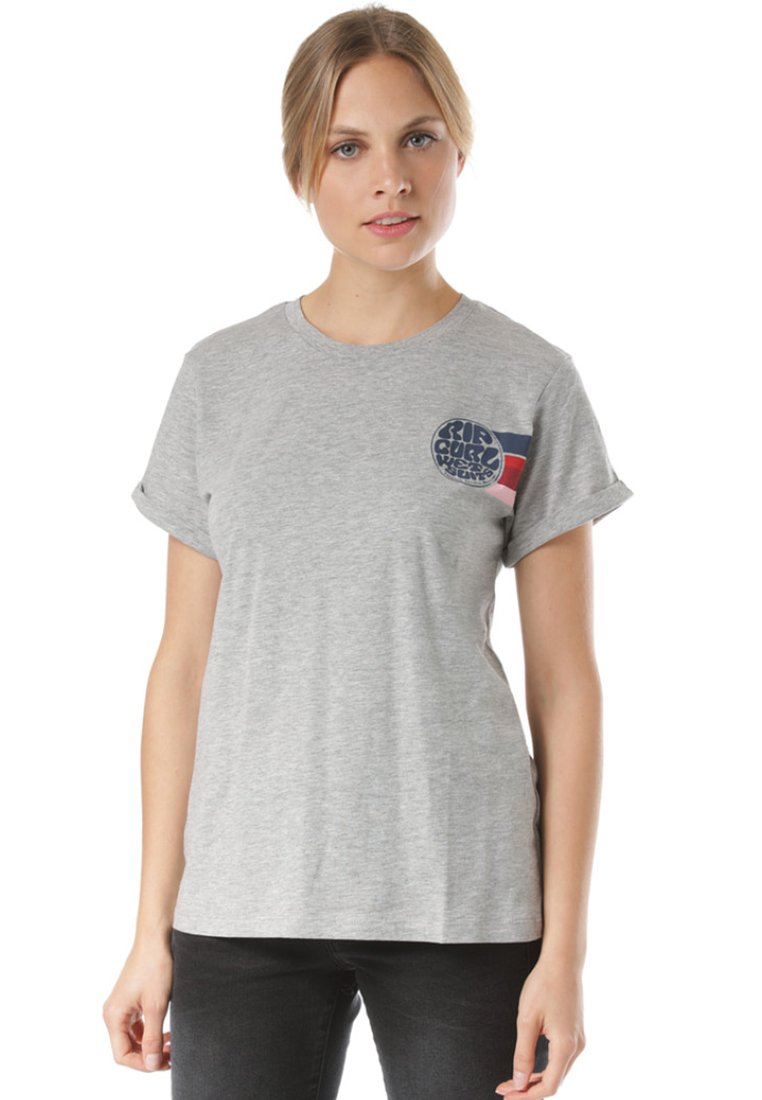 Rip Curl - WETTY - T-Shirt print - grey