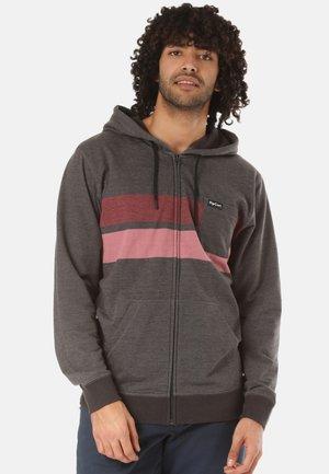 FLAGSHIP - veste en sweat zippée - grey