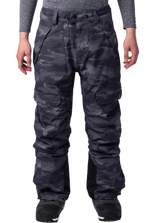 FOCKER - Snow pants - camo/black