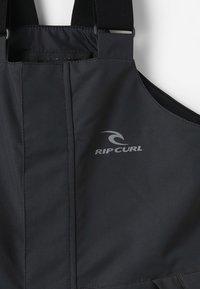 Rip Curl - Zimní kalhoty - jet black - 5