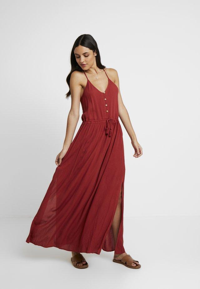 MUSE DRESS - Maxiklänning - rosewood