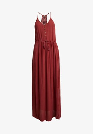 MUSE DRESS - Maxi-jurk - rosewood