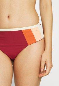 Rip Curl - DAYS BLOCK  - Bikini bottoms - maroon - 4