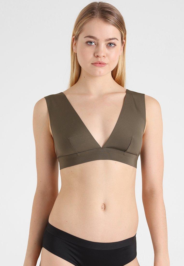 Rip Curl - INFINITY HALTER  - Bikini top - chocolate