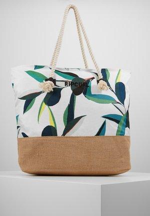 PALM BAY TOTE - Shopping Bag - white