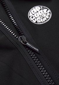 Rip Curl - LESS FRONT ZIP - Swimsuit - black - 2