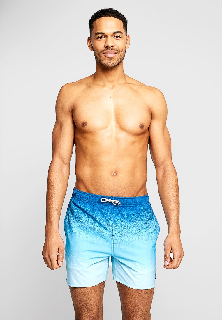 Rip Curl - VOLLEY SPRAYED - Swimming shorts - blue