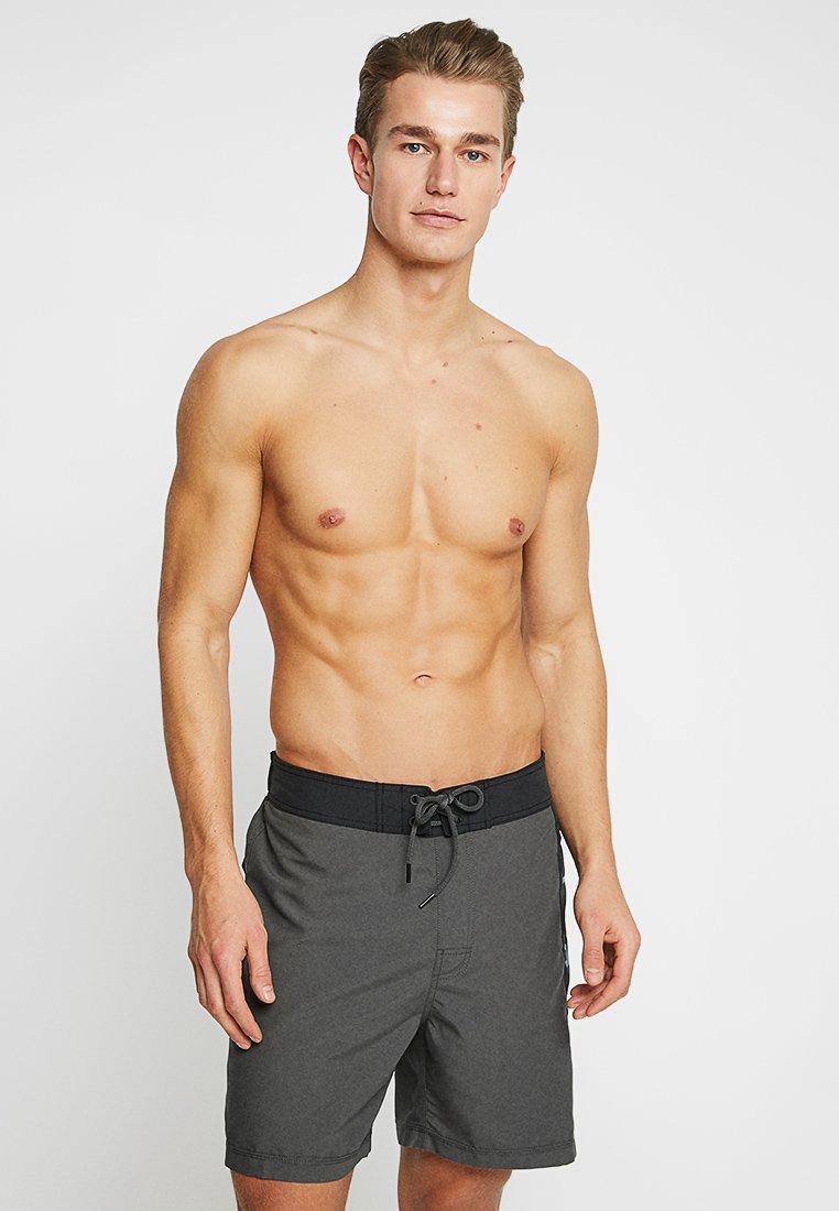 Rip Curl - SEMI ELASTICATED GRADIART - Swimming shorts - black