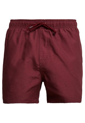 VOLLEY - Zwemshorts - burgundy