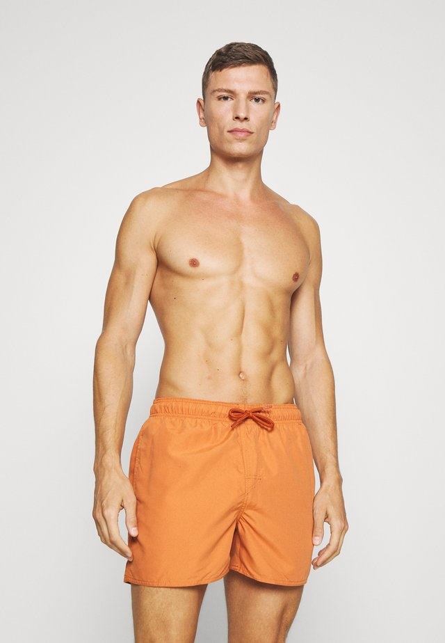 VOLLEY - Surfshorts - terracotta