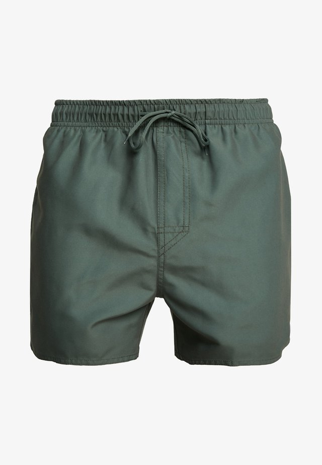 VOLLEY - Badeshorts - dark olive