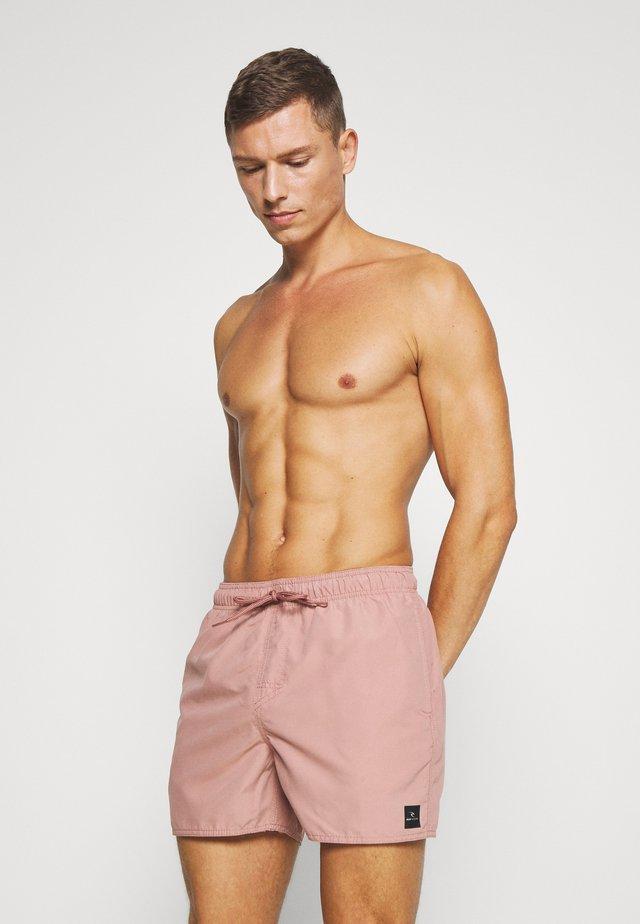 VOLLEY - Swimming shorts - mushroom